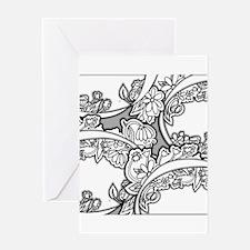 Doodle Depth Designs Series Greeting Cards