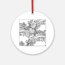 Doodle Depth Designs Series Round Ornament