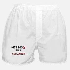 Kiss Me I'm a TAXI DRIVER Boxer Shorts