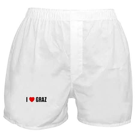 I Love Graz, Austria Boxer Shorts