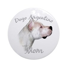 Dogo Mom2 Ornament (Round)