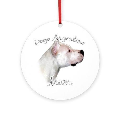 Dogo Mom2 Ornament (Round)