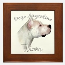 Dogo Mom2 Framed Tile