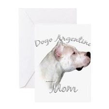 Dogo Mom2 Greeting Card