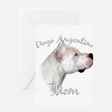 Dogo Mom2 Greeting Card