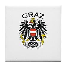 Graz, Austria Tile Coaster