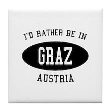 I'd Rather Be in Graz, Austri Tile Coaster