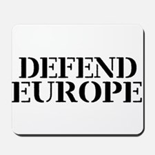 Defend Europe Mousepad