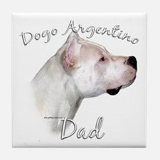 Dogo Dad2 Tile Coaster