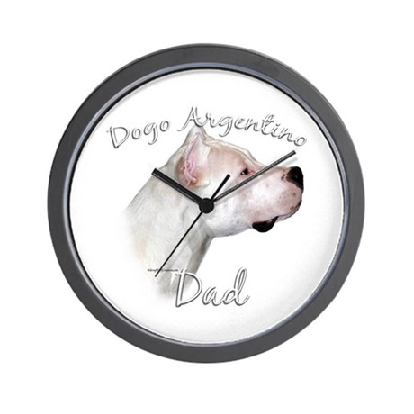 Dogo Dad2 Wall Clock