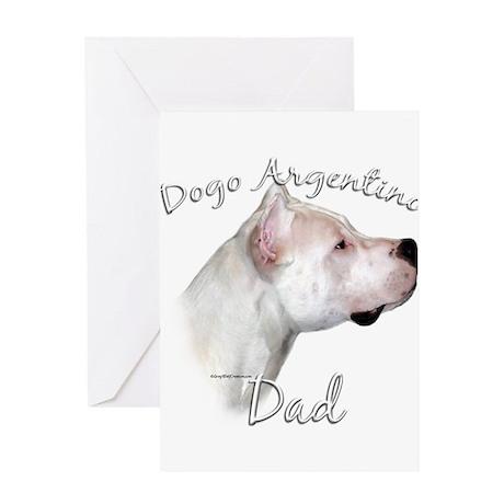 Dogo Dad2 Greeting Card