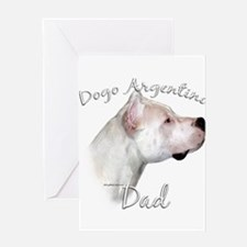 Dogo Dad2 Greeting Card