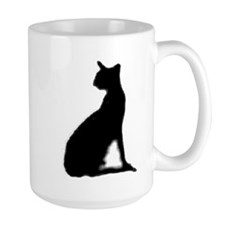 american wirehair silhouette Mugs