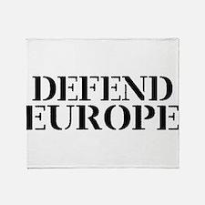Defend Europe Throw Blanket