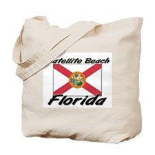 Satellite Beach Florida Tote Bag