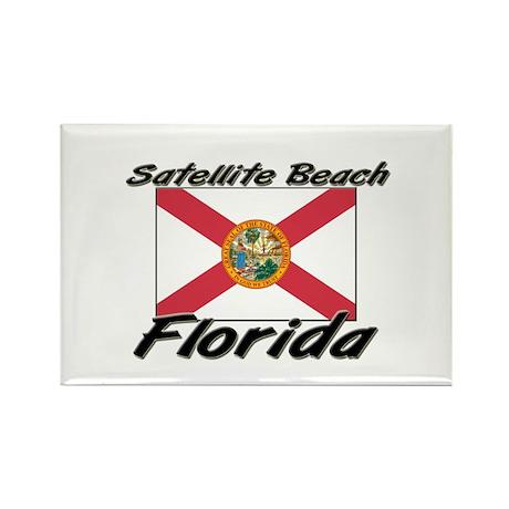Satellite Beach Florida Rectangle Magnet