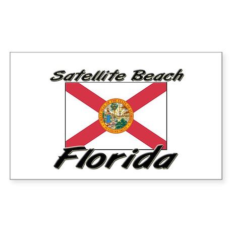 Satellite Beach Florida Rectangle Sticker