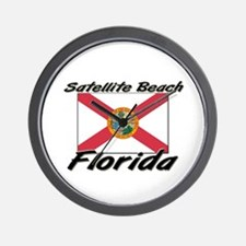 Satellite Beach Florida Wall Clock