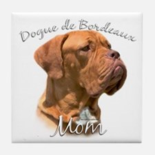 Dogue Mom2 Tile Coaster