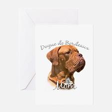 Dogue Mom2 Greeting Card