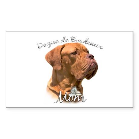 Dogue Mom2 Rectangle Sticker