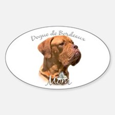Dogue Mom2 Oval Decal