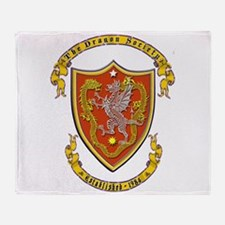 Official Dragon Society Logo Throw Blanket