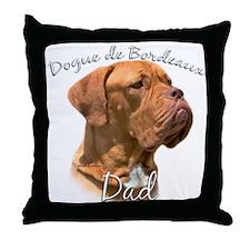 Dogue Dad2 Throw Pillow