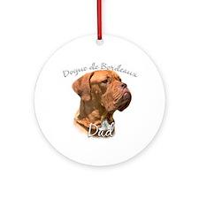 Dogue Dad2 Ornament (Round)