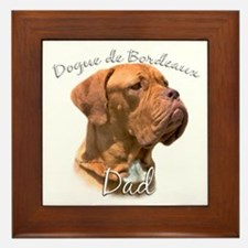 Dogue Dad2 Framed Tile