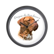 Dogue Dad2 Wall Clock