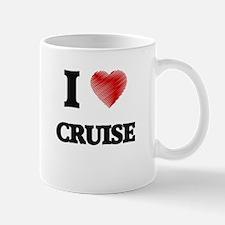 I Love Cruise Mugs
