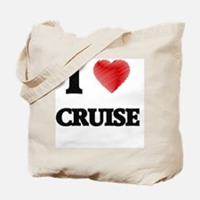 I Love Cruise Tote Bag