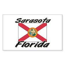 Sarasota Florida Rectangle Decal