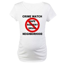Crime Watch Neighborhood Shirt