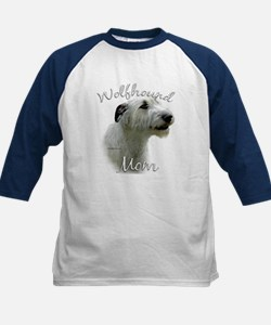 Wolfhound Mom2 Kids Baseball Jersey