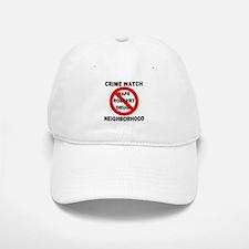 Crime Watch Neighborhood Baseball Baseball Cap