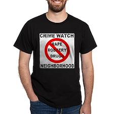 Crime Watch Neighborhood T-Shirt