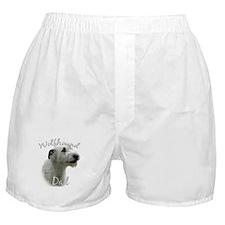 Wolfhound Dad2 Boxer Shorts