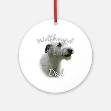 Wolfhound Dad2 Ornament (Round)