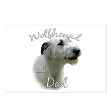 Wolfhound Dad2 Postcards (Package of 8)