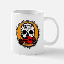 Skull Sportbike Mug