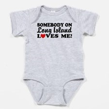 Cute Long island Baby Bodysuit