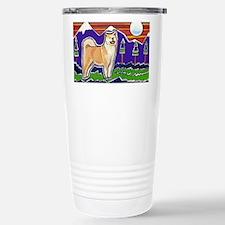 Unique Akita Travel Mug