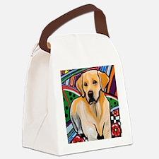 Unique Labrador retriever Canvas Lunch Bag