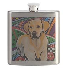 Cute Labrador Flask