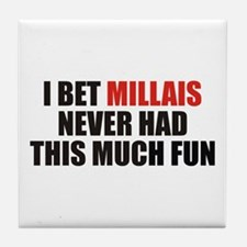 I Bet Millais Never Had This Tile Coaster