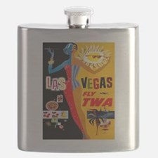 Vintage poster - Las Vegas Flask
