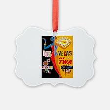 Vintage poster - Las Vegas Ornament
