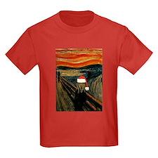 Scream Santa Kids Color T-Shirt